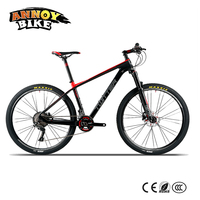 Twitter Warrior XC Racing MTB 26 27 5 Carbon Fibre Frame Mountain Bike With Shimano 22