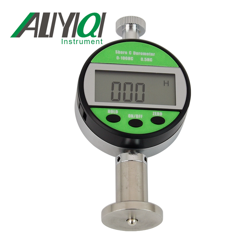 LX-C-Y Digital shore hardness tester durometer hardometer hardnessmeter sclerometer LCD screen dual needle lx a shore a sclerometer