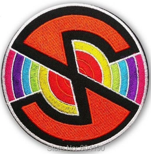 3 CAPTAIN SCARLET Spectrum Crew Anderson Version 2 Embroidered LOGO Movie TV Iron On Patch Badge Emo Goth Punk Rockabilly