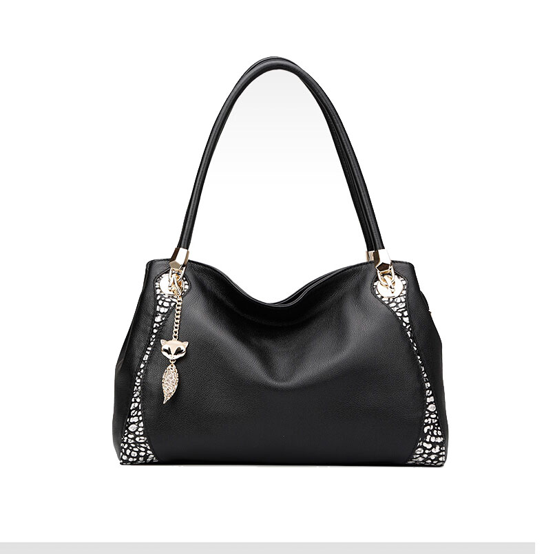 FOXER2018 high-quality fashion luxury brand new leather handbag shoulder bag Europe and the United States hit color tide tote ba europe and the united states fashion leather handbags 2017 new retro hit color decals leather small square bag shoulder bag