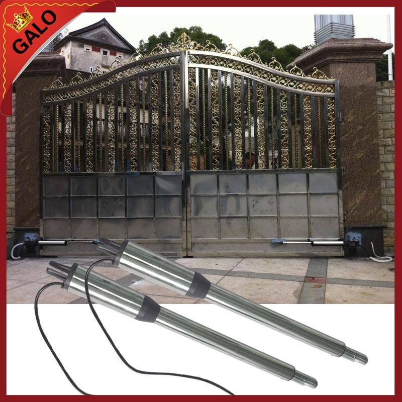 Galo swing gate opener double waterproof dual home use