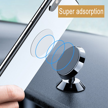 Magnetic Car Phone Holder For Samsung S10 S9 Universal Console Mobile In Stand Xiaomi telefon tutucu