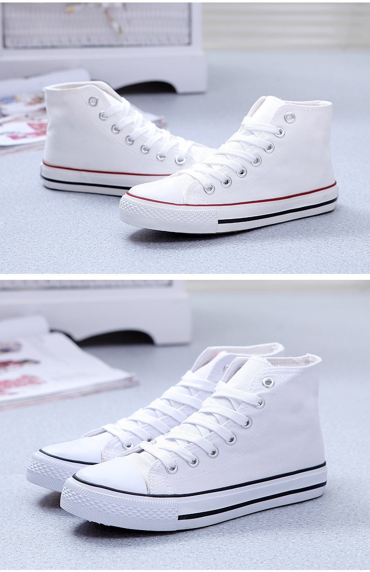 Hight Top Canvas Shoes