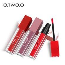 O.TWO.O Velvet Matte Liquid Lipstick Sexy Colors Lip Paint Waterproof Long Lasting 12 Colors