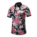 2017 3D Floral Skull Printed Camouflage Casual Tee Shirt Men Polo Camisa Polo Homme Mens Short Sleeve Polo Shirts