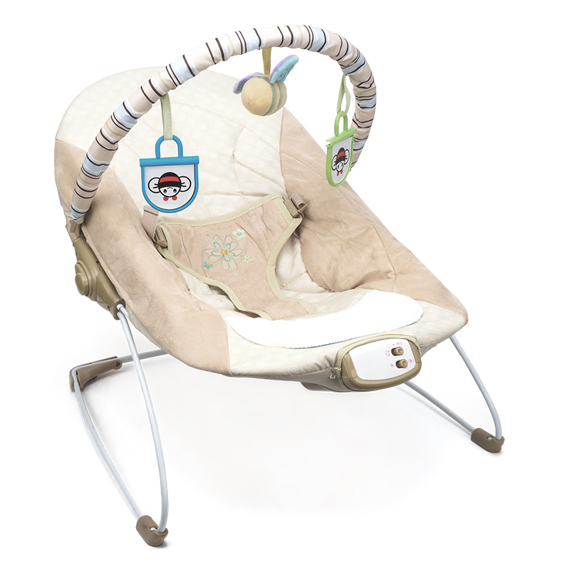 6de02955411 US $82.0 |Comfortable Baby Soothing Rocking Chair Newborn to Toddler Rocker  Musical Vibrating Chair Baby Bouncer Swing-in Bouncers,Jumpers & Swings ...