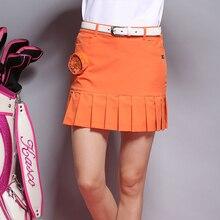 Skorts плиссированные короткая гольфа юбки юбка спортивные женская шорты одежда женщин