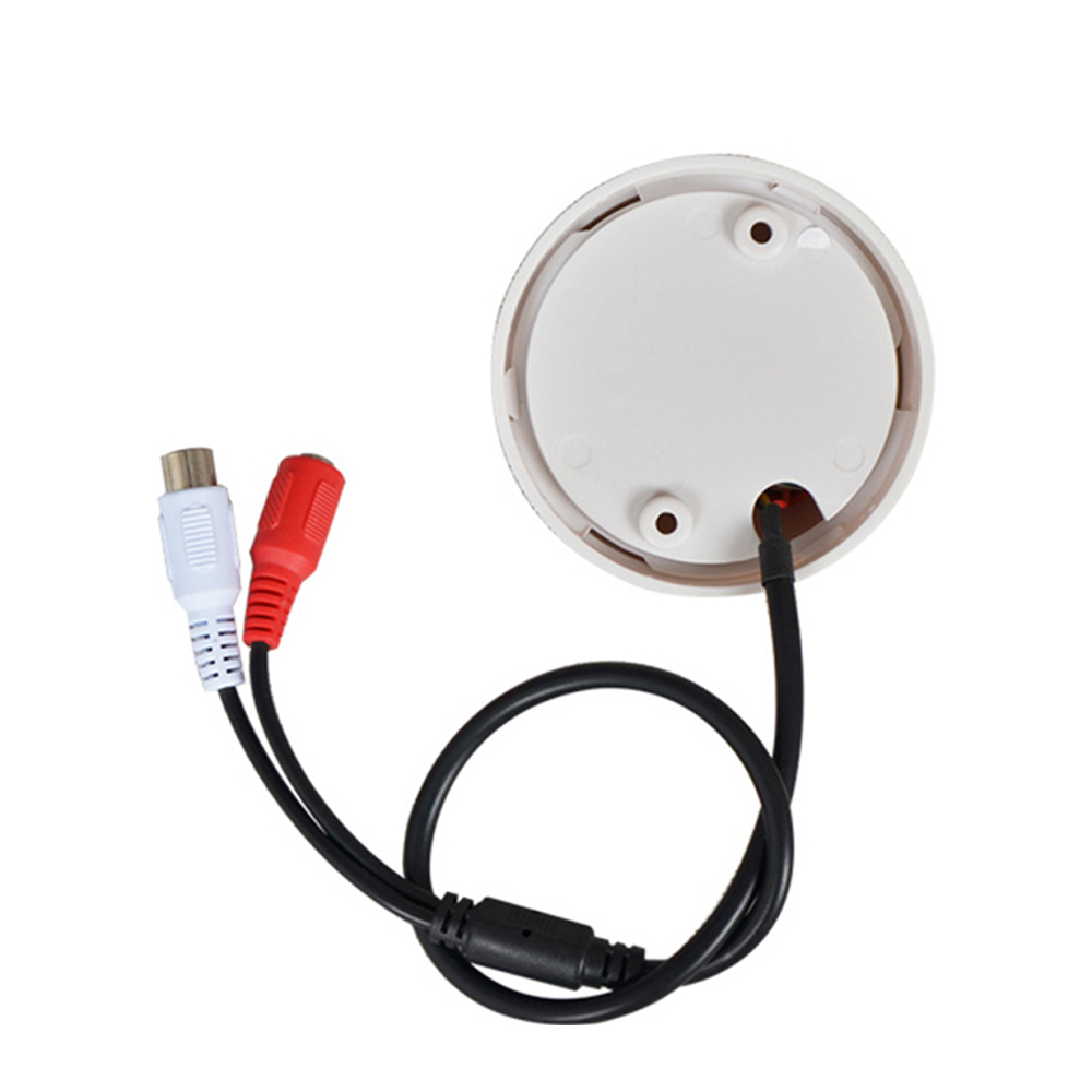 Image 3 - YiiSPO Hot Selling CCTV Microphone Golf Shape audio Pickup Device High Sensitivity DC12V audio Monitoring sound listening device-in CCTV Microphone from Security & Protection