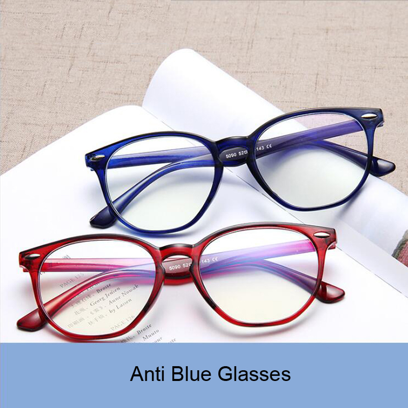 SOOLALA Anti Blue Light Blocking Glasses Men Women Clear Regular Computer Gaming SleepingBetter Blue Light Filter Glasses