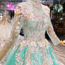 AIJINGYU Turkish Real Sample Bridal Gown Wedding Dress