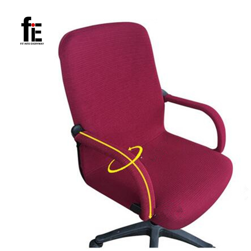 Elastic Chair Cover Polyester Suit Armchair Arm Cover For