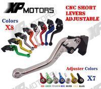 CNC Short Adjustable Brake Clutch Levers For Honda VF750S SABRE 1982 1983 1984 1985 1986