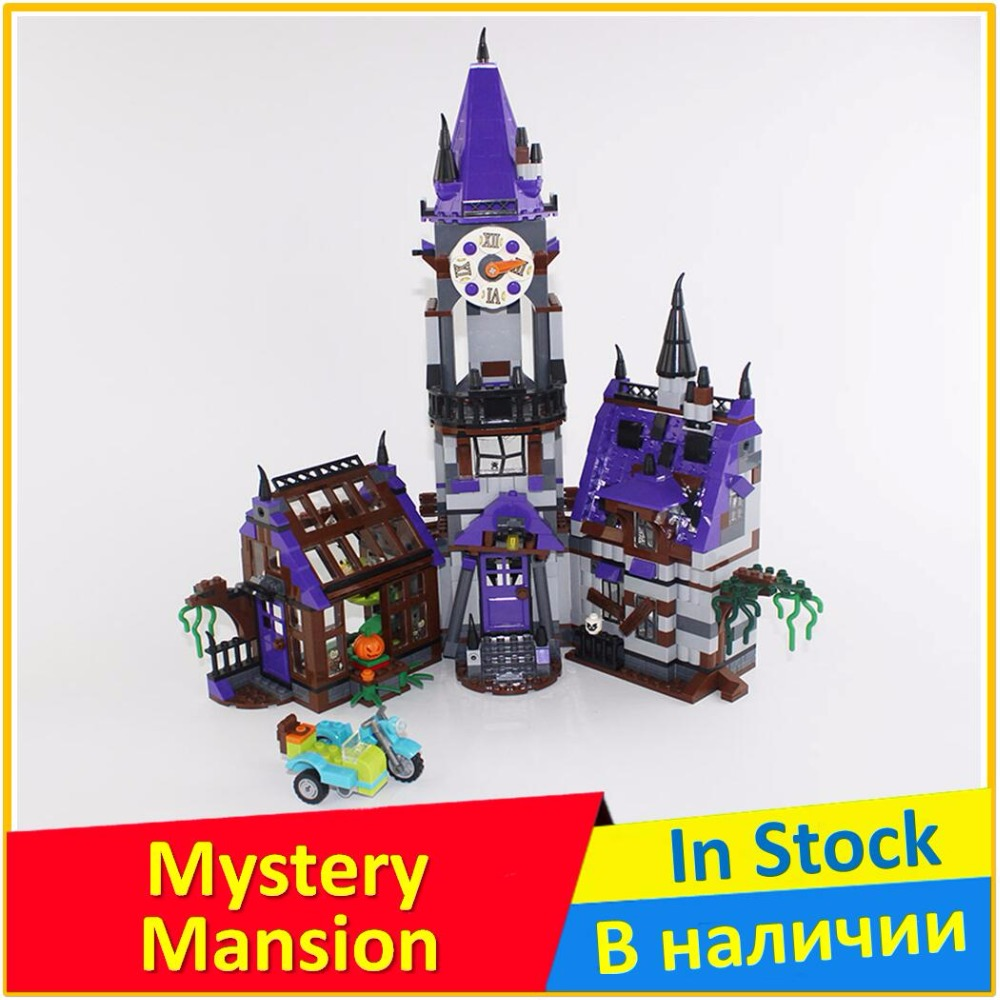 Mystery Mansion 75904 Building Blocks Model Educational Toy For Children BELA 10432 Compatible legoes Scooby Doo Bricks Figure bela 10432 compatible with lego 75904 scooby doo figures mystery mansion model building blocks educational toys for children