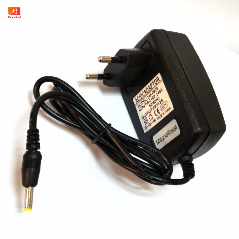 AC Converter Adapter DC 9V 2A Power Supply Charger US 4.0mm x 1.7mm 2000mA New
