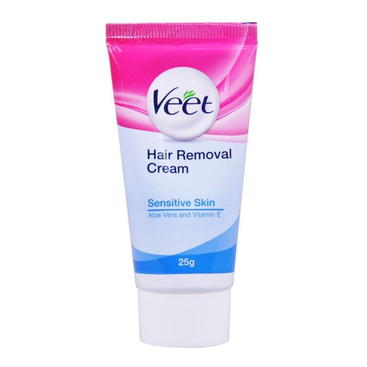 Veet Hair Removal Cream 25g Moderate Allergic Skin Cream For