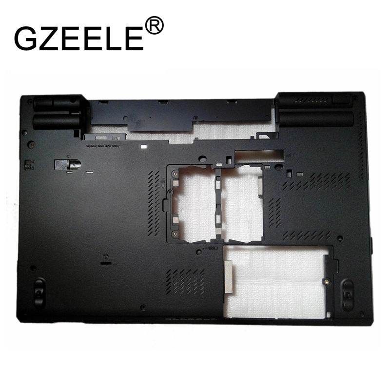 GZEELE New for Lenovo for Thinkpad T530 T530I Bottom Base case lower cover 04W691 Lower Case Shell 04W6914 gzeele new laptop lcd top cover case for lenovo for thinkpad t450s bottom case base cover 00pa886 am0tw000100 w dock lower case