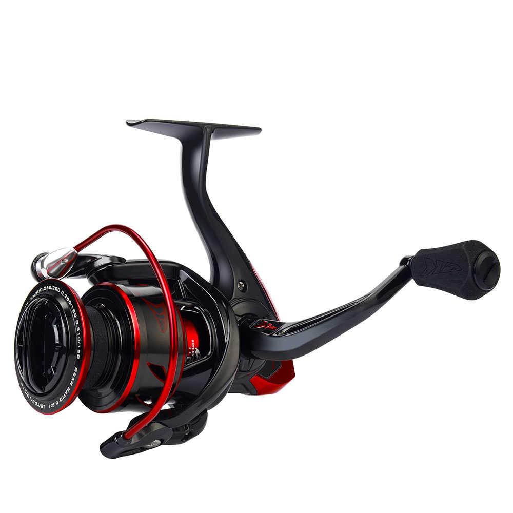 KastKing Sharky III 1000-5000 سلسلة بكرة غزل مقاومة للمياه ماكس السحب 18 كجم بكرة صيد قوية لصيد السمك بايك باس