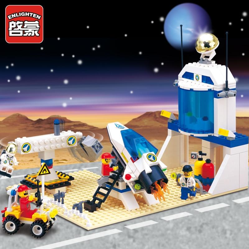 все цены на ENLIGHTEN Space Series International AeroSpace Station Astronaut Model Building Blocks minifig Kids Educational Kids Toys