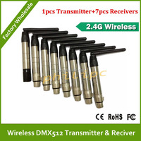 DHL/EMS Free ShippingHot sell 2.4Ghz wireless DMX transmitters DMX512 wireless receiver DMX wireless controller