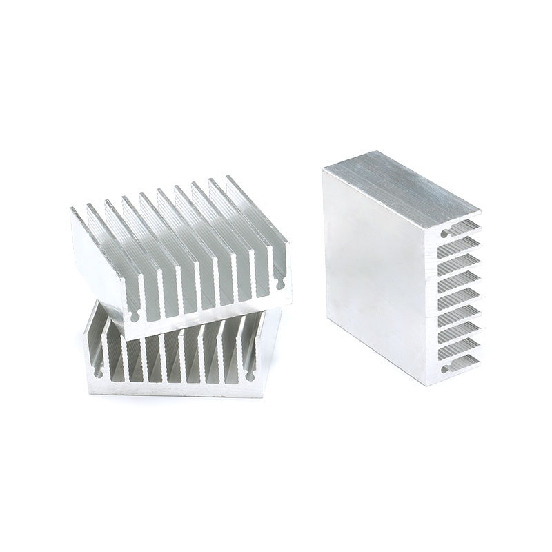 1 pc 454518mm Heatsink Cooler Cooling Fin Aluminum Radiator Heat Sink for LED, Power IC Transistor, Module PBC 45X45X18mm (1)