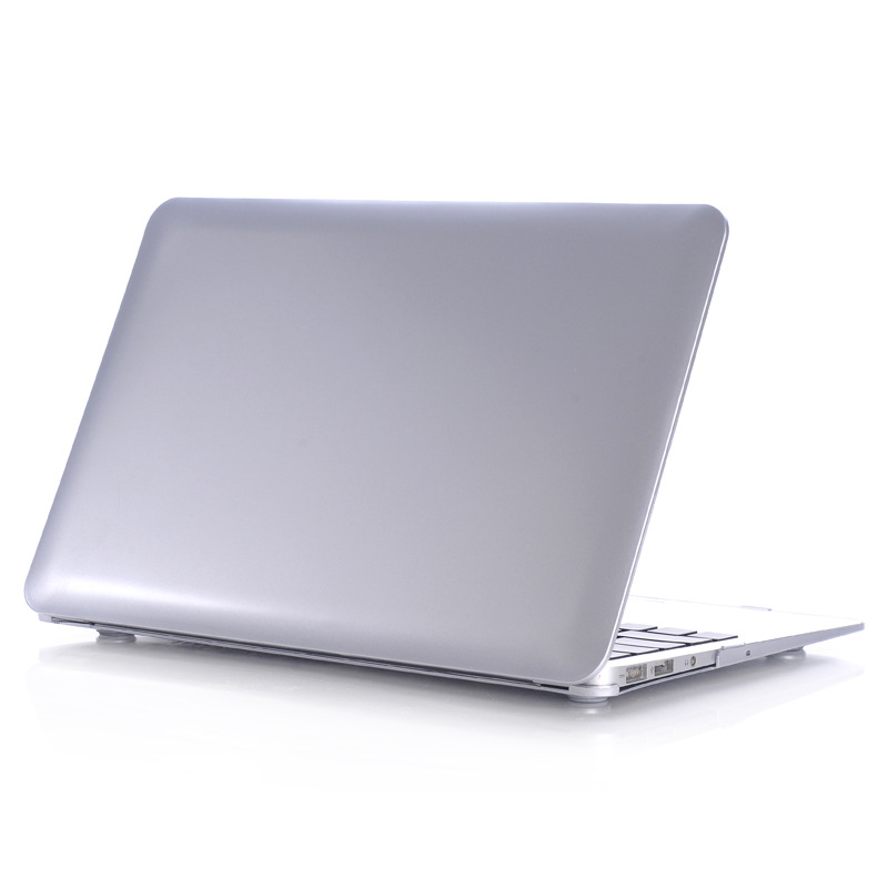 Logo No Hollow Champagne Gold Metal Color Case for Macbook Air Pro Retina 11 12 13 15 Hard Laptop Protective Case for Macbook