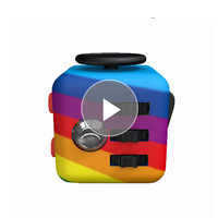 Mini Party Favors Decompression Cube Toy Camouflage Anti Stress Anxiety Fidget Toys Cubo Gifts Sound Cubes Sensory Puzzle Cube