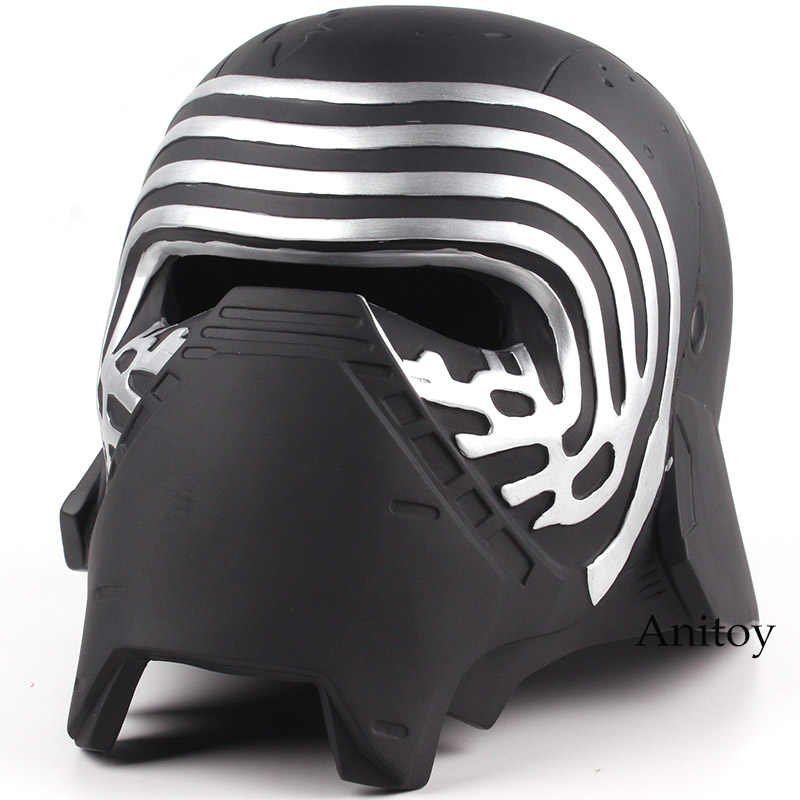 Star Wars Kylo Dewasa Cosplay Masker Helm 1:1 Resin Action Figure Collectible Model Mainan