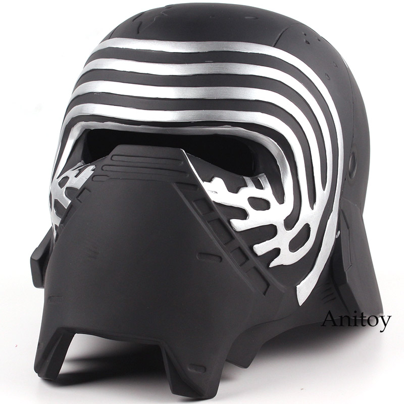 Star Wars Kylo Ren Adult Cosplay Mask Helmet 1:1 Resin Action Figure Collectible Model Toy pink dandelion design кожа pu откидной крышки кошелек для карты держатель для samsung j5prime
