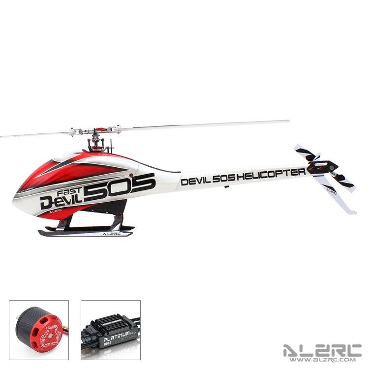 купить ALZRC Devil 505 FAST RC Helicopter Standard Combo In Stock недорого