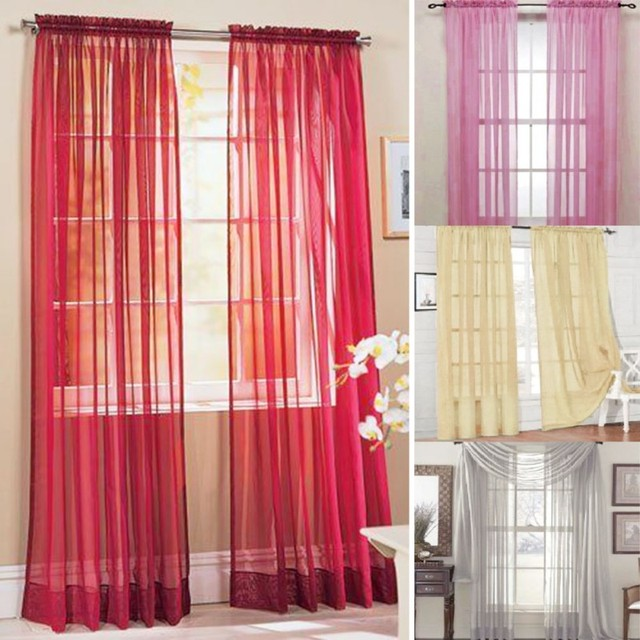 Curtains Ideas curtain panel styles : Aliexpress.com : Buy Multi Styles Door Window Curtains Drape Panel ...