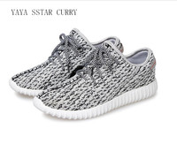 YAYA STAR CURRY 2017 Summer Men S Shoes Flying 350 Coconut Shoes Mesh Breathable Casual Shoes