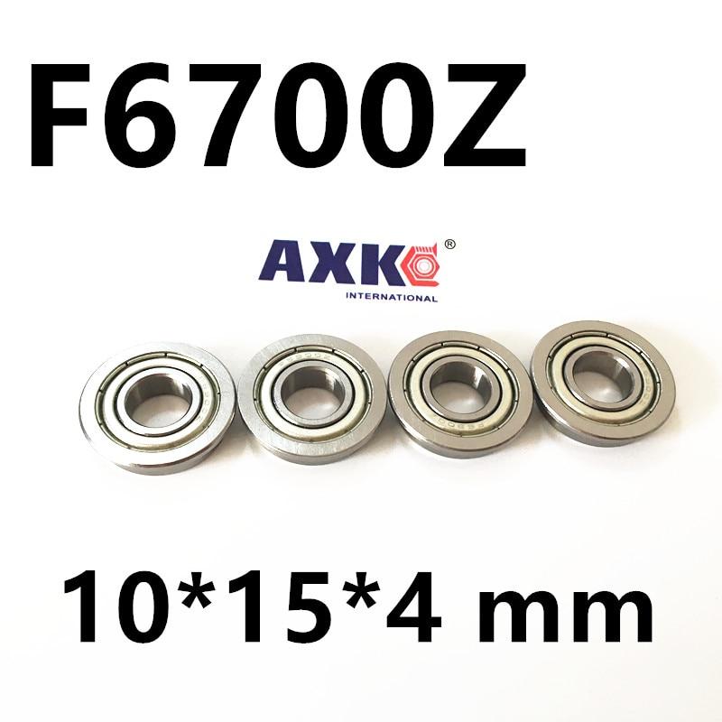 F6700ZZ Flange bearings  6700 F6700Z F6700ZZ 10*15 16.5*5 mm chrome bearing F6700ZZ F63700ZZ 10*15*4 mm nokia 6700 chrome спб