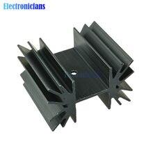 Aileron en aluminium de refroidissement de radiateur d'ic de 35x42x25.4mm pour des Transistors de Mosfet de Module