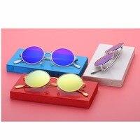 2018 Новый Личность солнцезащитные очки, 7049 Металл круглая рамка, старушка очки