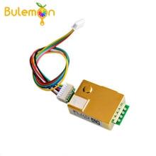 Sensor infravermelho 0 5000ppm do co2 do módulo do sensor do co2 de 1 pces MH Z19 ndir com linhas