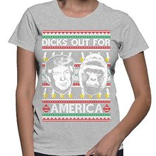 Women's Dicks Out For America Trump Harambe T-shirt