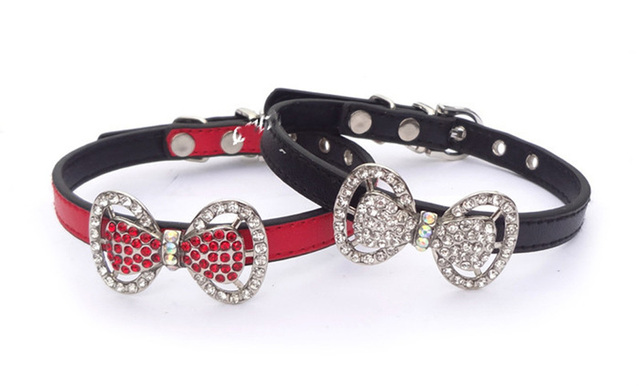 Collier strass pour yorkshire