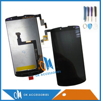 Black Color For Archos 50 Oxygen LCD Display Touch Screen Digitizer Assembly 1PC Lot