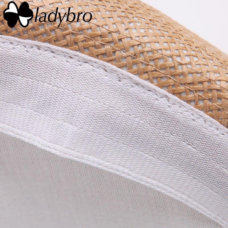 Ladybro 3pcs Sommar Kvinnor Hatt För Män Hat Lady Strand Keps Sol - Kläder tillbehör - Foto 4