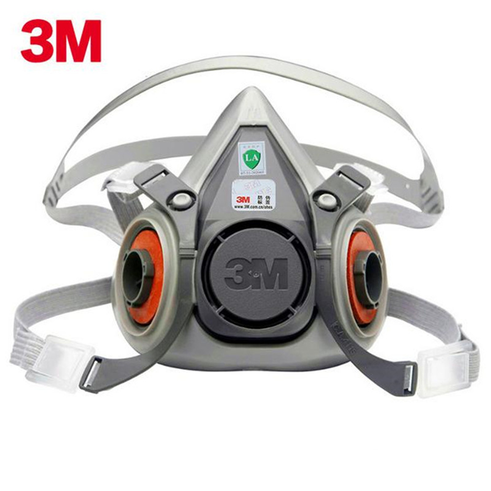 3M 6200 Silicone Mask Body Anti-particulate Dust Mask Anti-fog And Haze PM2.5 Industrial Grade Protective Masks Tool