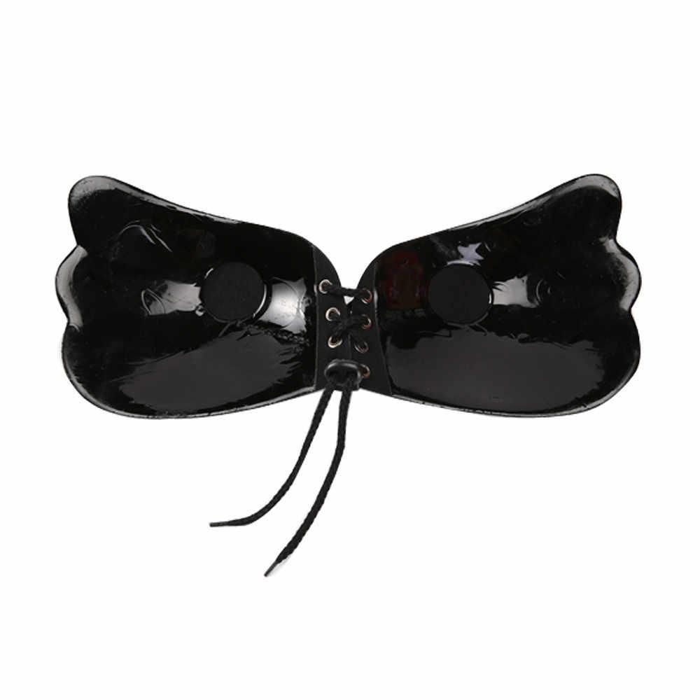 Sexy sutiã feminino sutiã soutien sutyen quente nova moda feminina sexy adesivos push up sutiã anti extinção cueca #501