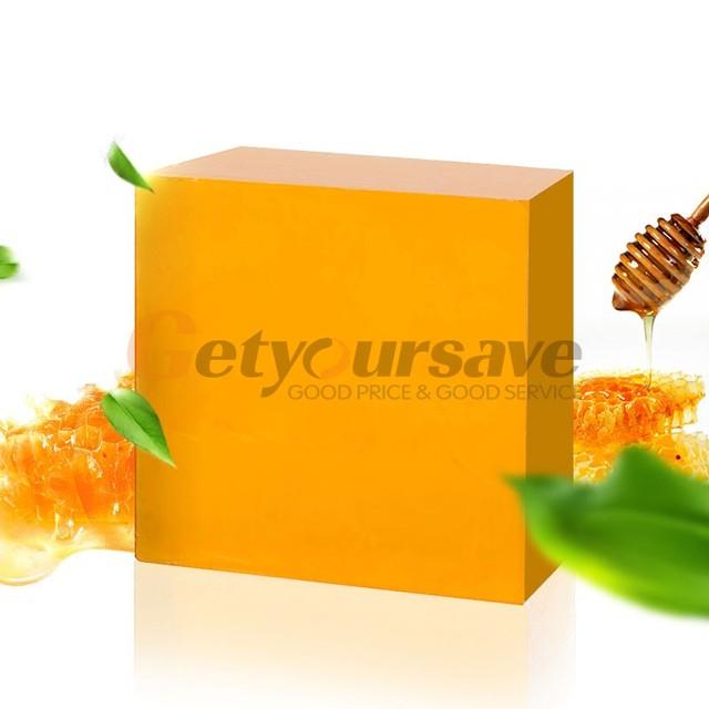 100% Handmade Honey Soap Bath Whitening Exfoliating Glutathione Arbutin Honey Acid Soap 100g 1