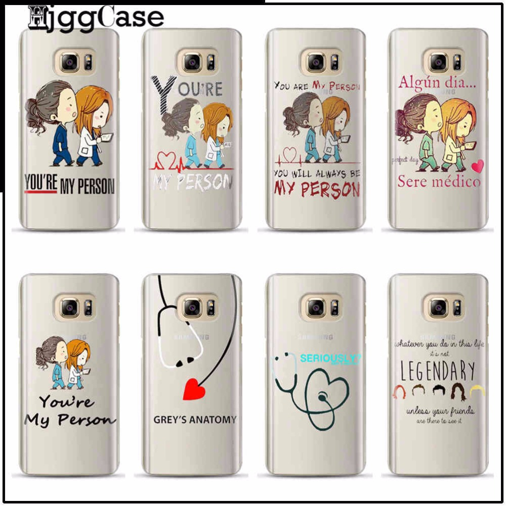 Greys Anatomy Cover TPU soft phone Case Cover For Samsung Galaxy S3 ...