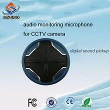 SIZHENG MX-K10 High sensitivity CCTV security audio surveillance omnidirectional microphone audio pick up for security