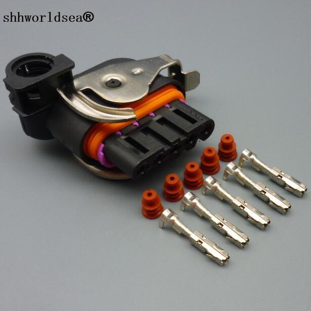shhworldsea 5 Pin/Way Automotive Engine Harness Connector Generator