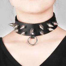 Женские и мужские модные ожерелья недорогие панковские кольца