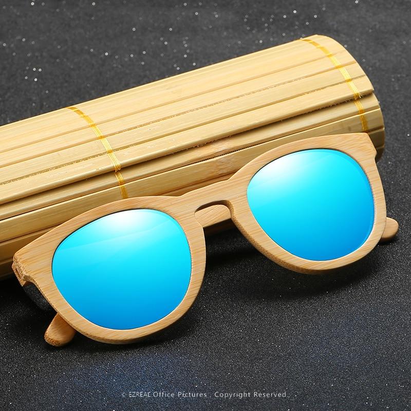 EZREAL Hombres Mujeres 100% Gafas de sol de madera de bambú natural - Accesorios para la ropa - foto 2