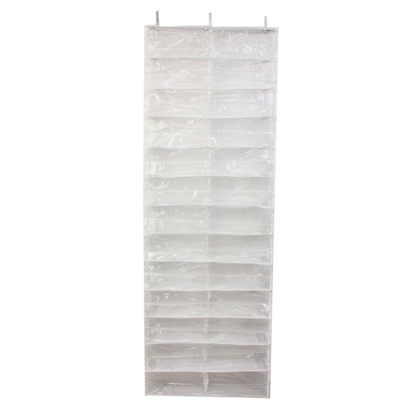 Image 2 - 26 Pairs Over Door Hanging Stand Shoe Rack Shelf Storage Organiser Pocket HolderShoe Cabinets   -