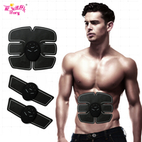 Ifory Abdominal Muscle Trainer Smart Electronic EMS Exercise Equipment Intelligent Fitness Slimming Belly Leg Arm Molding Tool