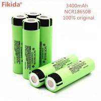 10PCS New original NCR18650B 34B 3.7V 18650 3400mAh rechargeable battery lithium battery flashlight battery